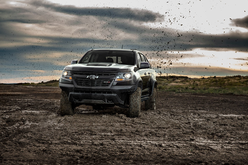 The Off-Road Racing Chevrolet Colorado ZR2