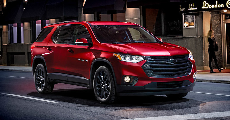 13 Most Comfortable SUVs List Includes 2020 Traverse